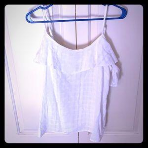 Tops - Old Navy women's cold shoulder tank shirt